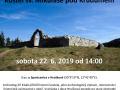 """Muzeum Karlovy Vary vás srdečně zve v závěru týdne na dvě exkurse - v sobotu 22. června na historickou """"Kostel sv. Mikuláše pod Krudumem a jeho tajemná minulost"""" 1"""