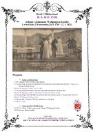 Vetkání s panem J.W.Geothe, která se koná dne 28.8.19  v hotelu U Bílého koně v Lokti. 1