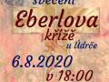 Slavnostní svěcení Eberlova kříže u Údrče 1