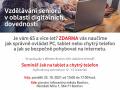 Pozvánka na seminář pro seniory - Jak na tablet a chytrý telefon. 1